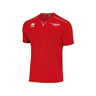 COVOS heren shirt Everton rood front