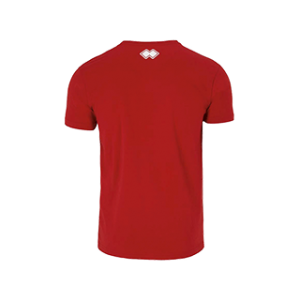 COVOS heren shirt Professional rood back