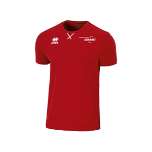 COVOS heren shirt Professional rood front
