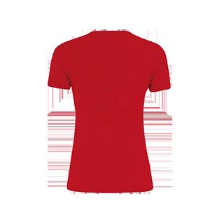 COVOS dames shirt Marion rood back