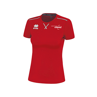 COVOS dames shirt Marion rood front